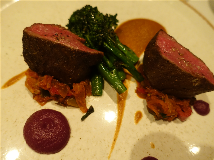 venison with broccoli